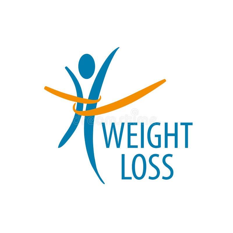 Logo för viktförlust royaltyfri illustrationer