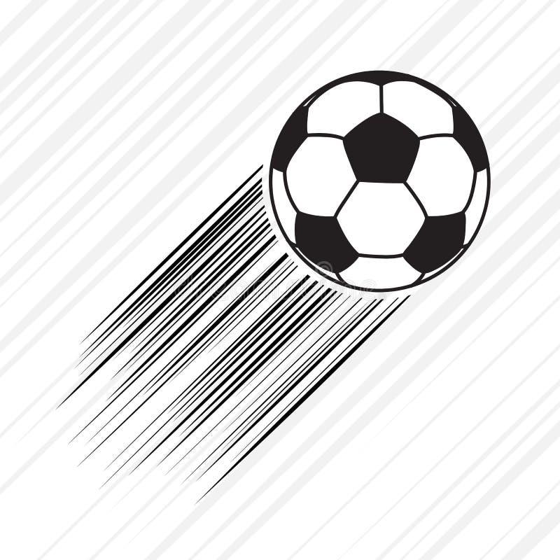Karikaturbild Der Fussball Ikone Fussball Symbol Vektor