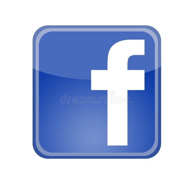 logo Facebook illustrazione di stock