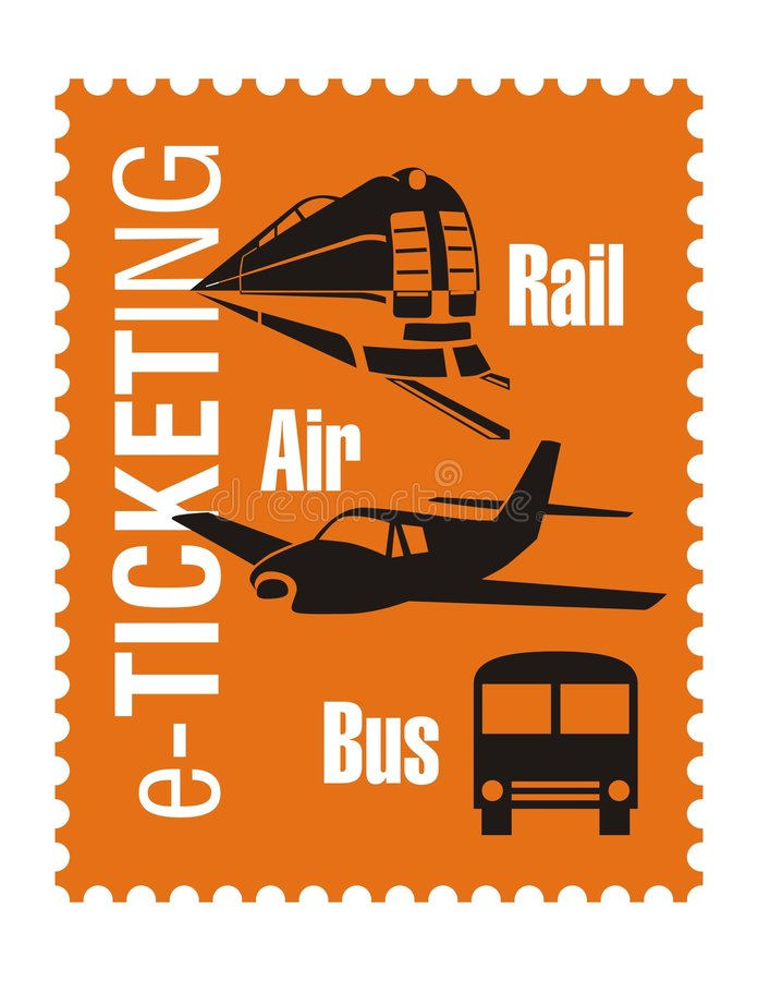 logo faktorska podróż ilustracja wektor