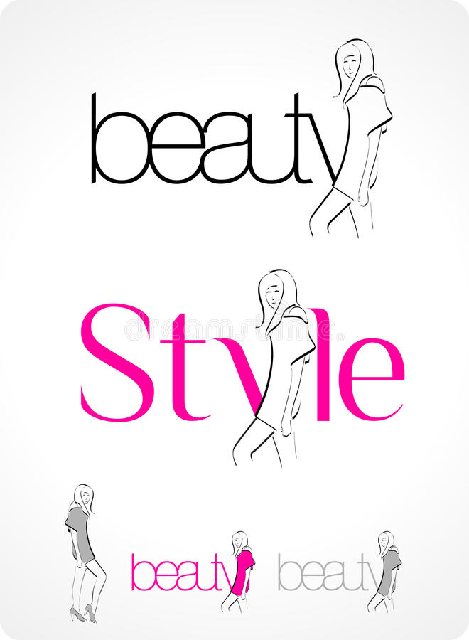 Logo - Fashion stock illustration