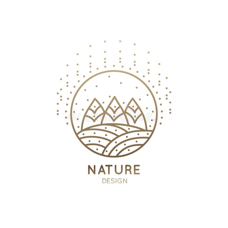 Free Logo Fields And Forest Stock Photos - 104148783