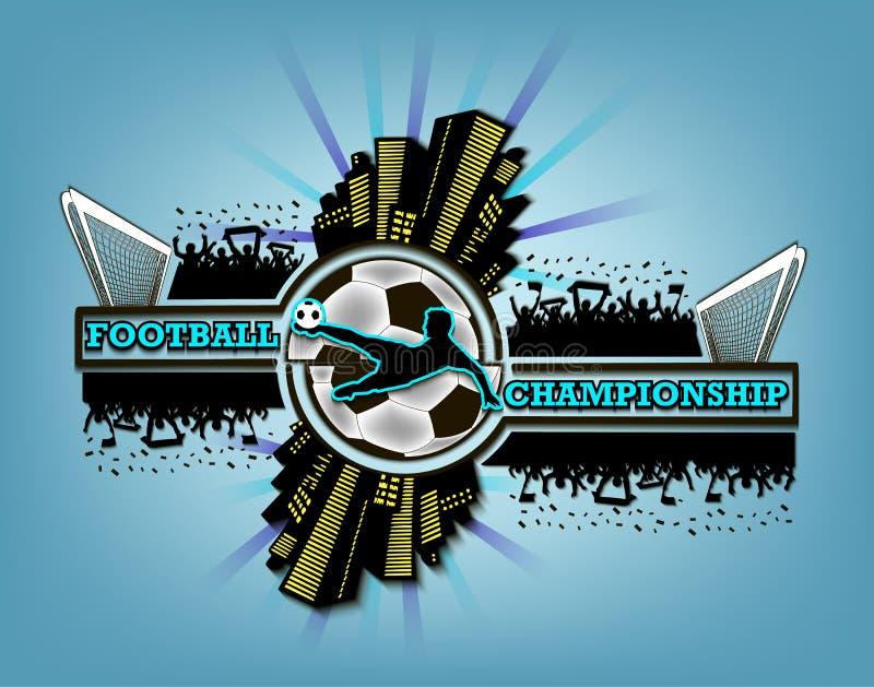 Logo Football Championship libre illustration