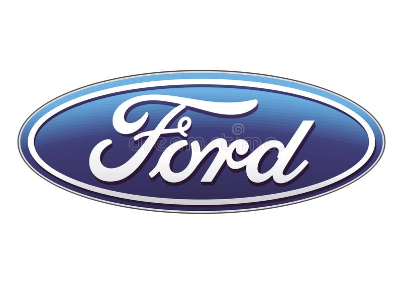 Logo Ford vector illustratie