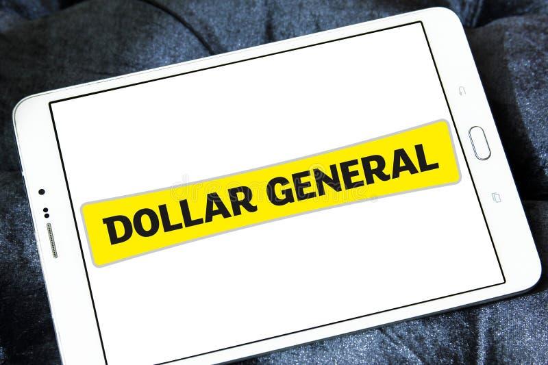 Logo général de détaillant du dollar images stock