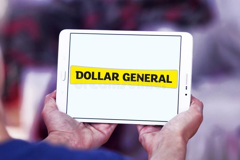Logo général de détaillant du dollar photographie stock libre de droits