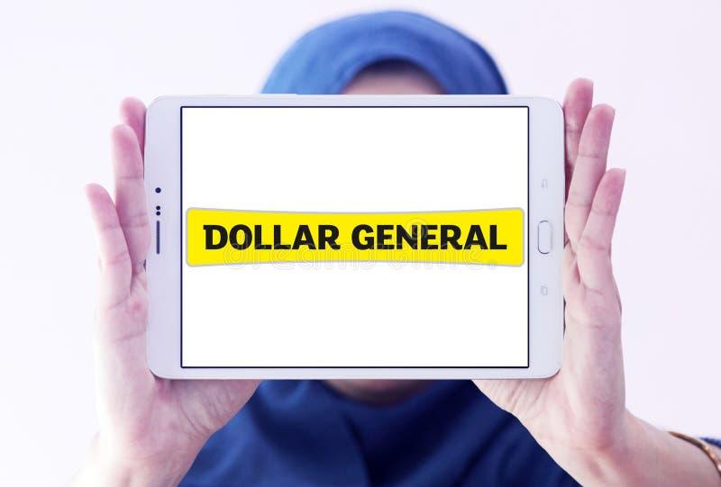 Logo général de détaillant du dollar photo stock