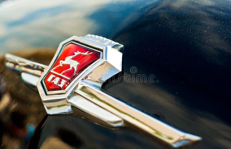 Download Logo GAZ editorial photo. Image of race, retro, roadster - 23916571