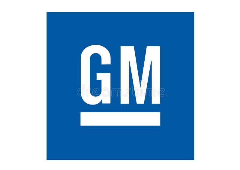 Logo General Motors vektor abbildung