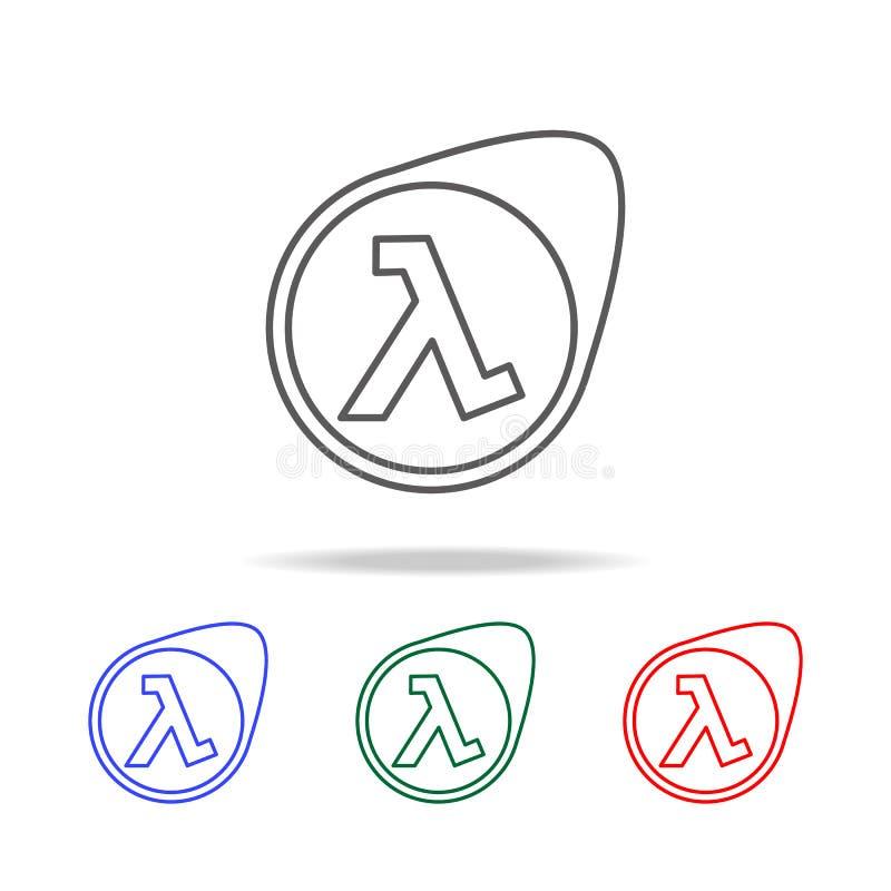logo gier szyldowa ikona Elementy gemowy życie w wielo- barwionych ikonach Premii ilości graficznego projekta ikona Prosta ikona  ilustracji