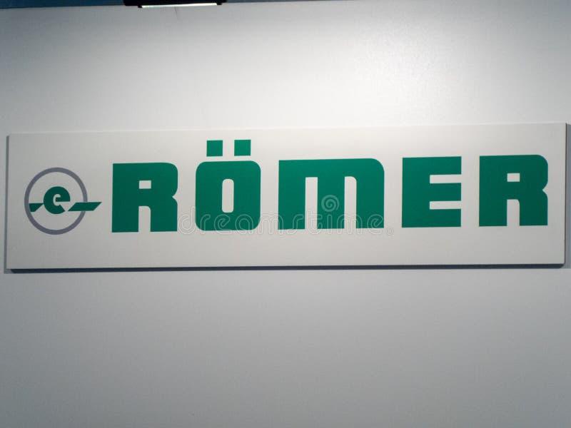 Logo Gmbh d'Erhard Römer photo stock