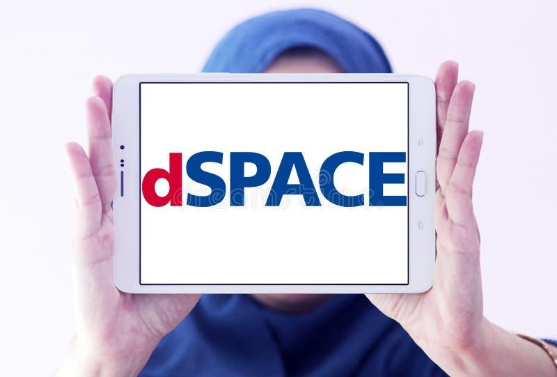 Logo Gmbh della società di DSPACE fotografia stock