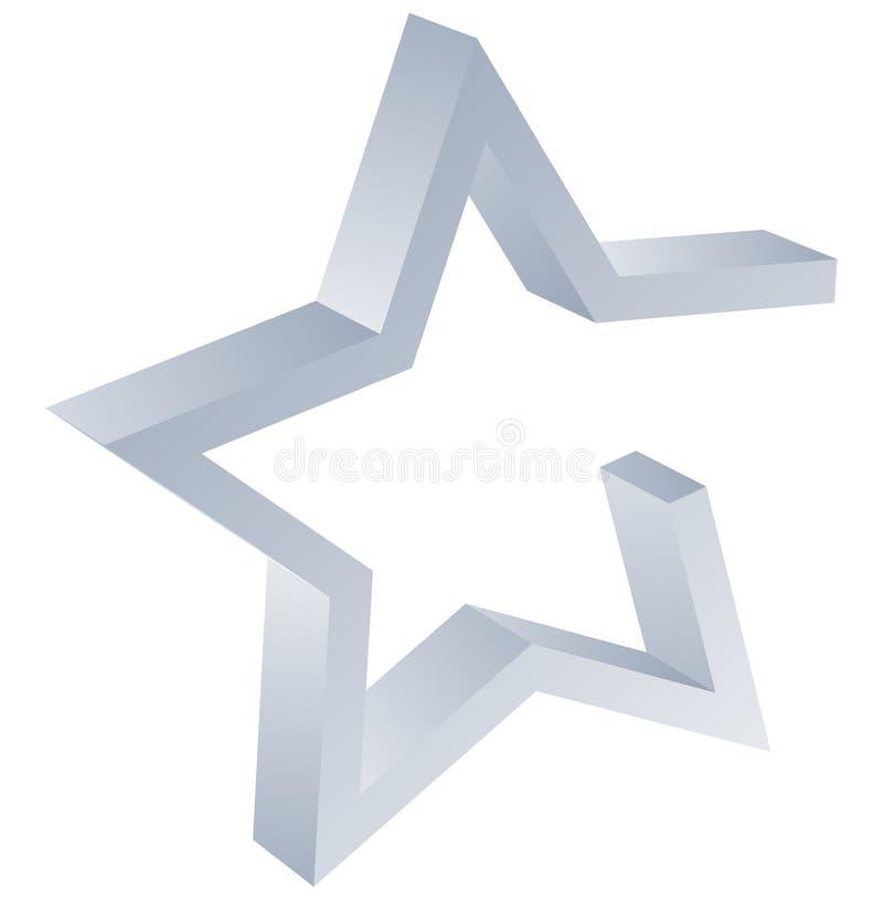 logo gwiazda royalty ilustracja