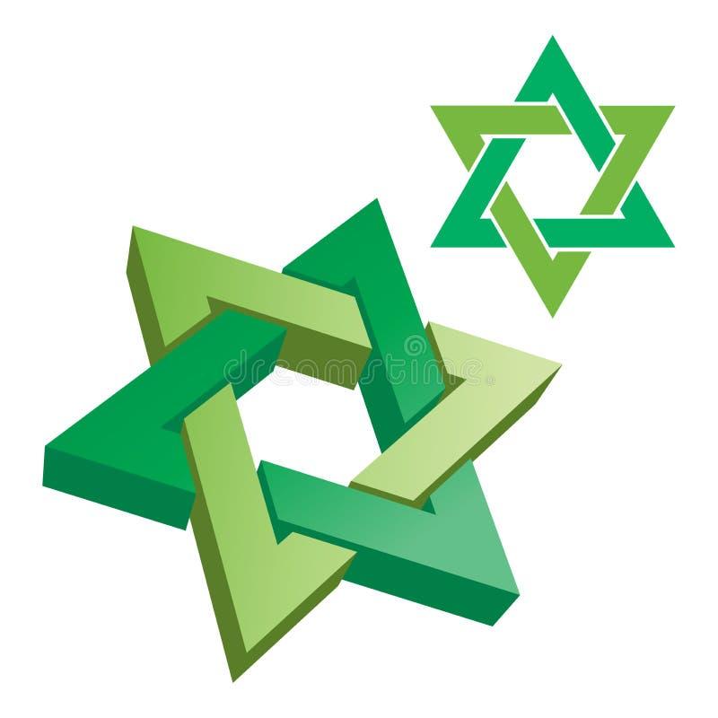 logo gwiazda ilustracja wektor