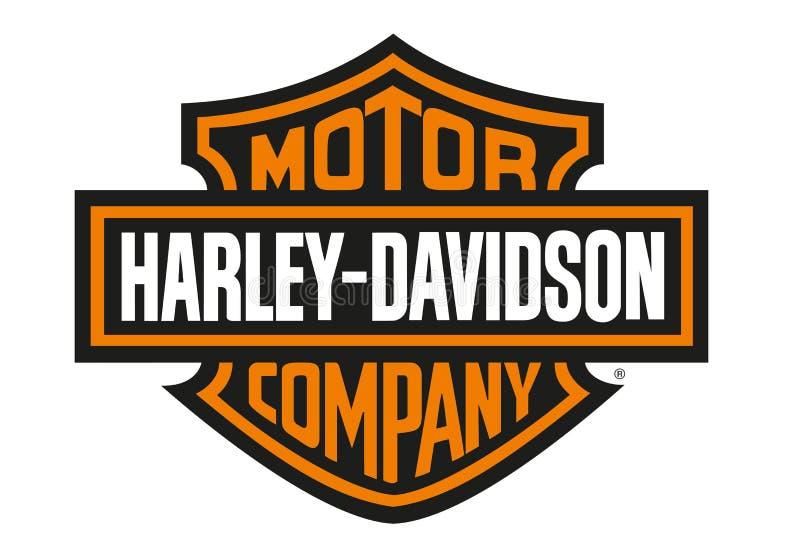 Logo Harley Davidson stock abbildung