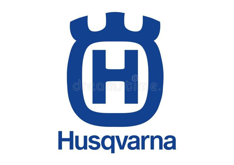 Logo Husqvarna royaltyfri illustrationer