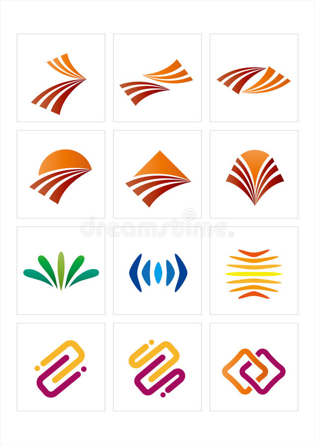 logo icon stock illustration