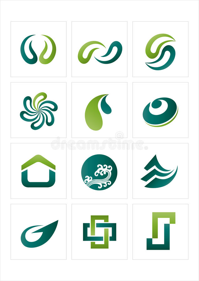 logo icon royalty free illustration