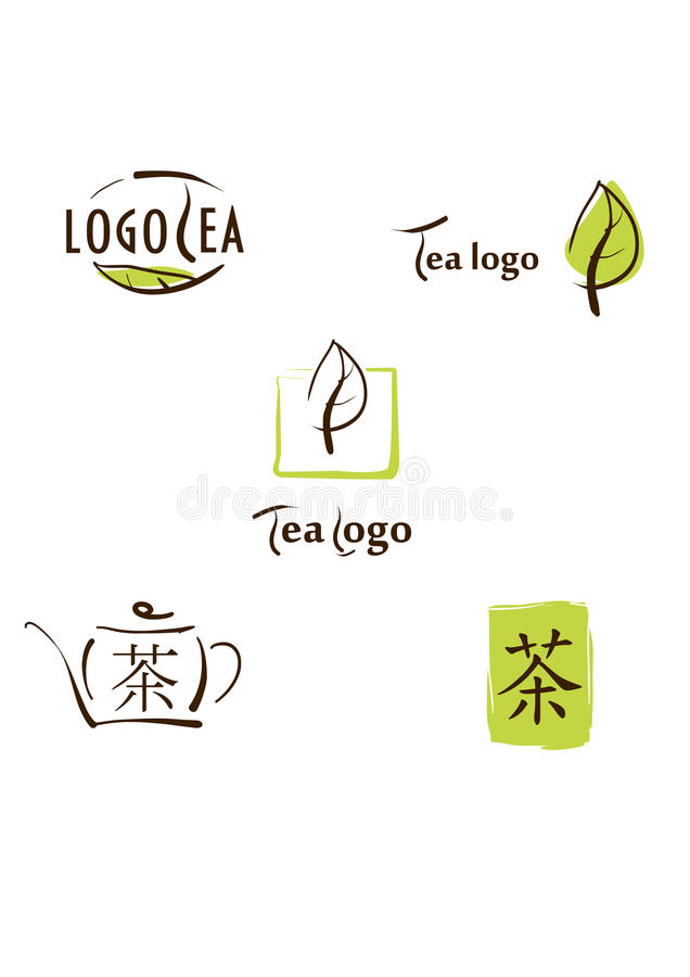 Download Logo, Icon And Hieroglyph Illustration For Tea Bra Stock Vector - Image: 24246106