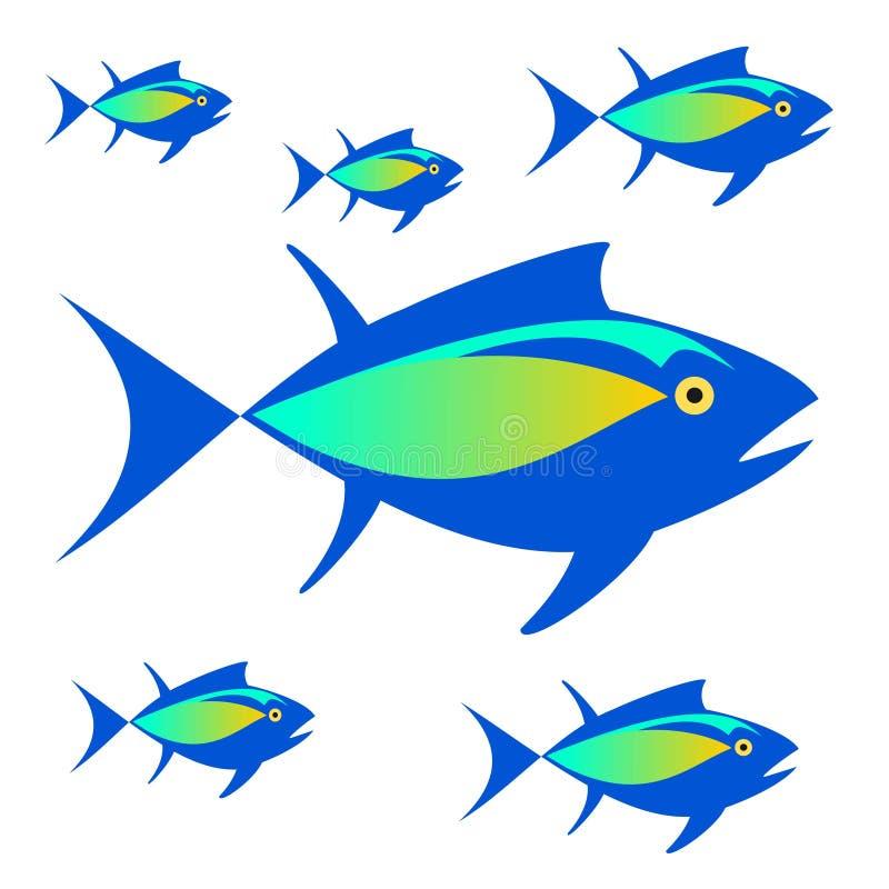 logo Image de vecteur des thons illustration de vecteur