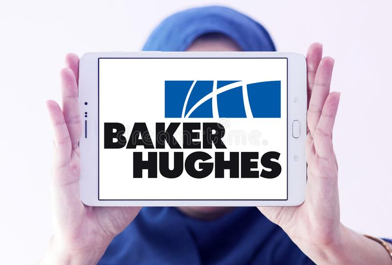 Logo industriale della compagnia di servizi di Hughes del panettiere immagine stock libera da diritti