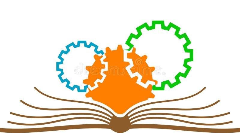 Logo industriel d'étude illustration de vecteur