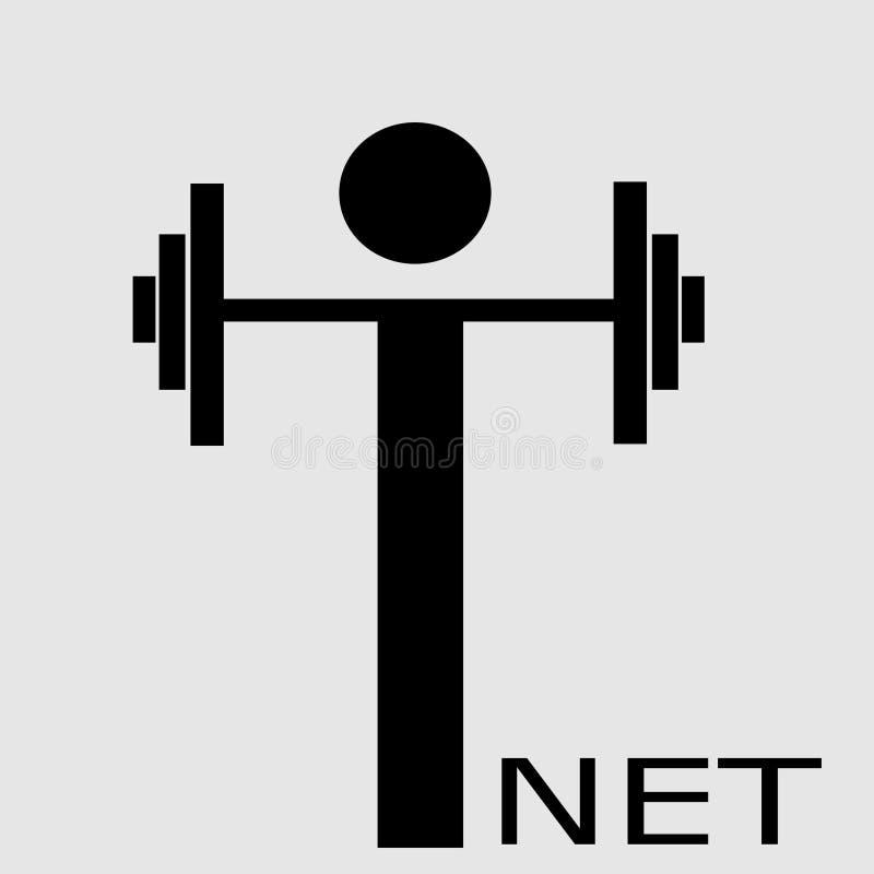 Logo internet kolorowych deseniowych planowanymi różnych możliwych wektora ilustracja wektor