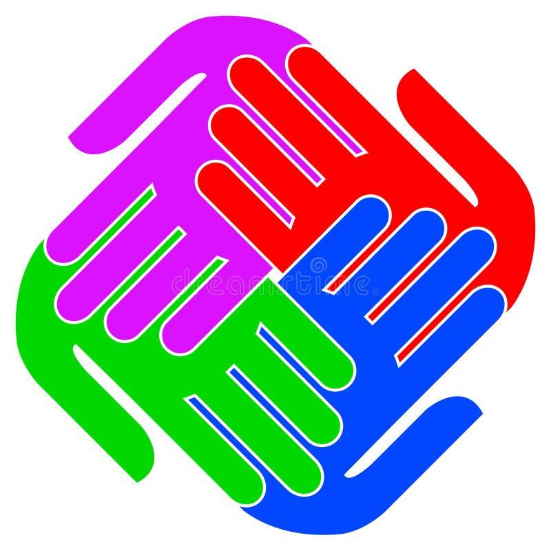 logo jedność ilustracji