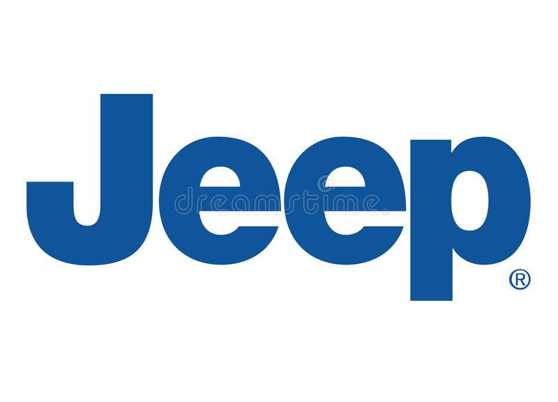 Logo Jeep. Car color vector format aviable ai