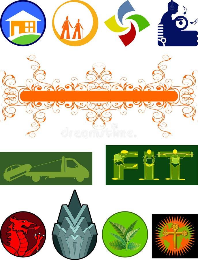 logo jest ilustracja wektor