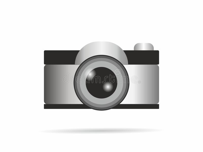 Logo kamera obrazy stock