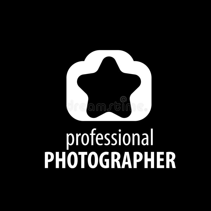 Logo kamera fotograf ilustracja wektor