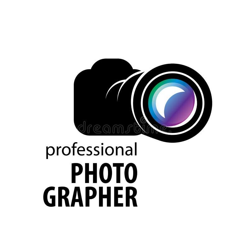 Logo kamera fotograf royalty ilustracja