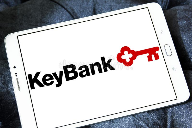 KeyBank logo editorial photography  Image of editorial