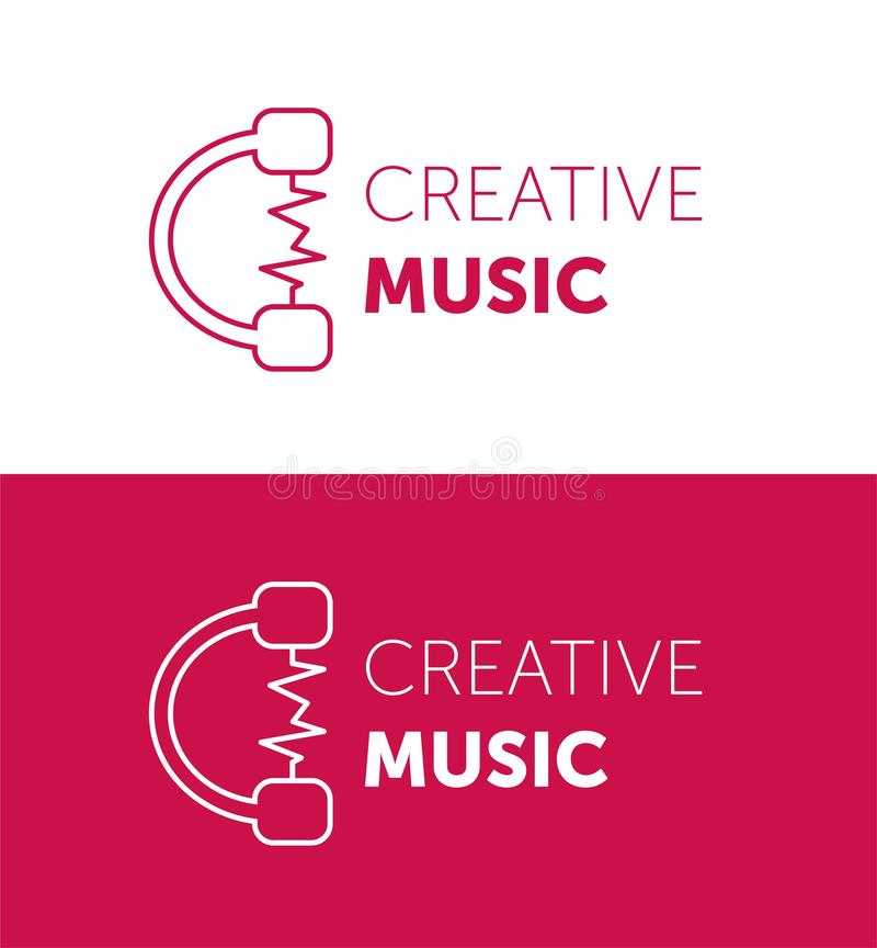 logo Kreatywnie wektorowy logo abstract koloru wektor projekta symbol ilustracja wektor