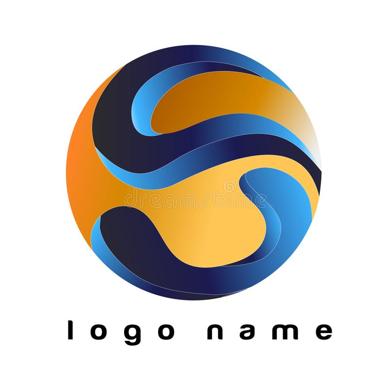 Logo Letter S - Template Logo for your company. Template logo S. Good for logo your business or your company. File EPS Editable vector illustration