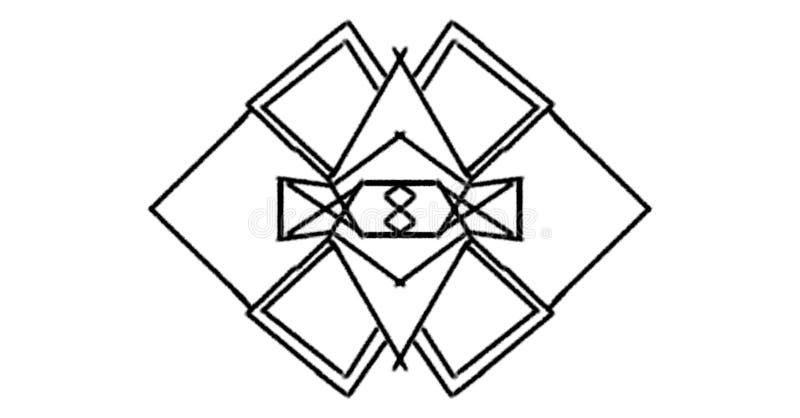 Logo linie ulizują obrazy royalty free