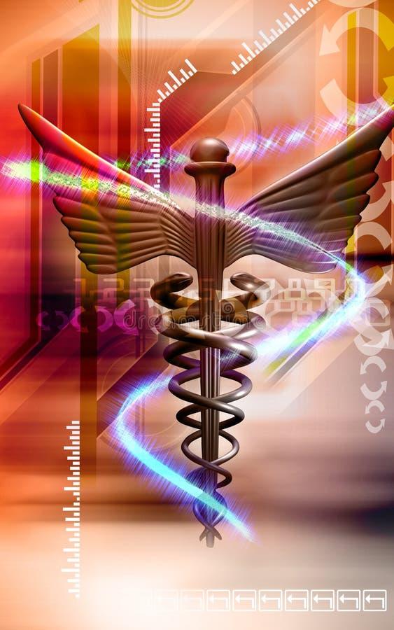 Logo médical illustration stock