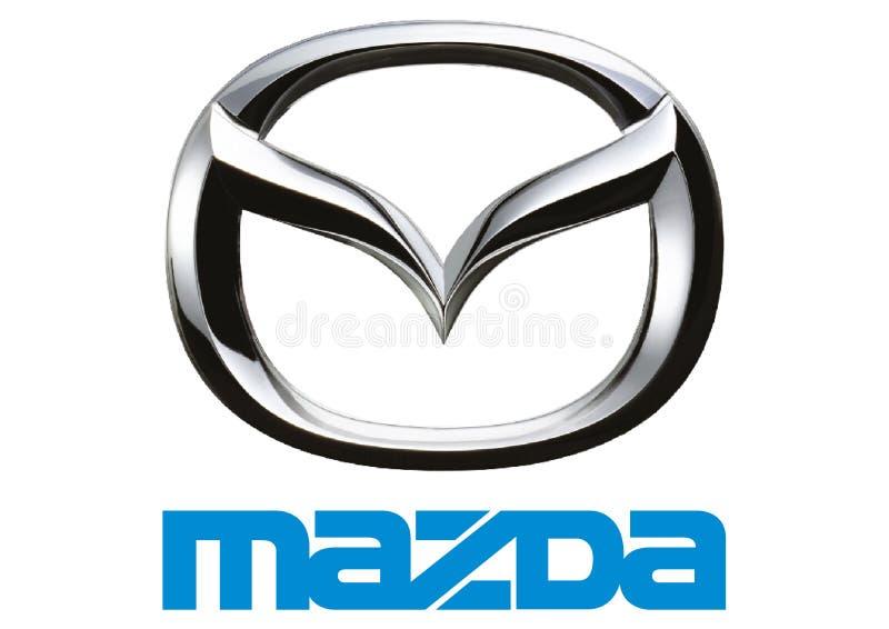 Logo Mazda stock abbildung