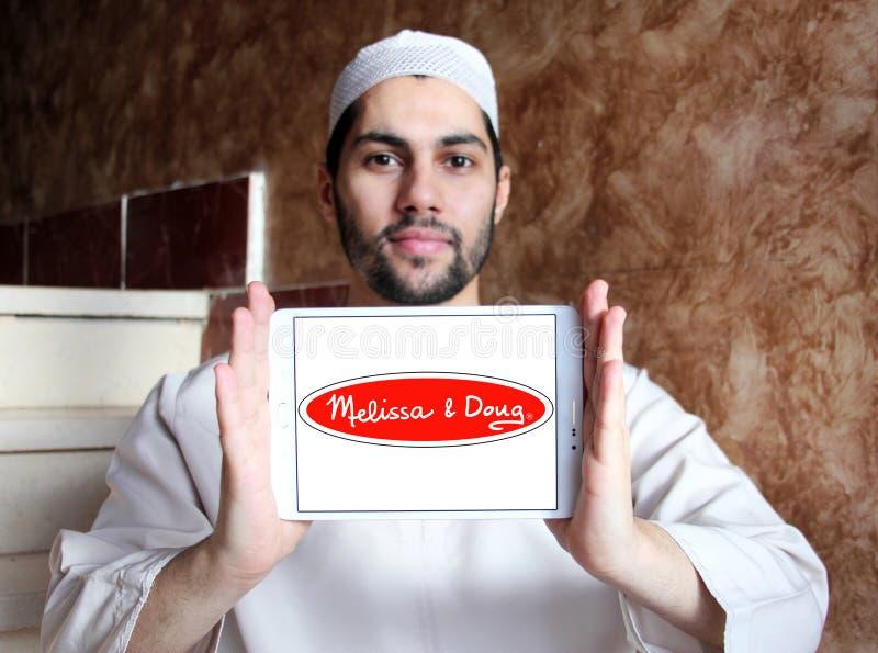 Melissa & Doug toys manufacturer logo. Logo Melissa & Doug toys manufacturer on samsung tablet holded by arab muslim man. Melissa & Doug is an American royalty free stock photos