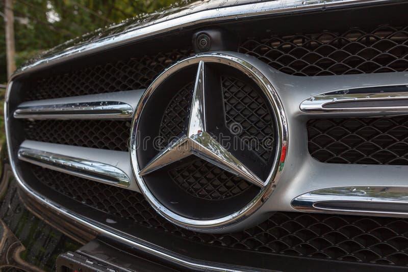 Logo Mercedes-Benz obraz stock
