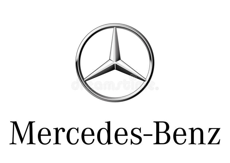 Logo Mercedes Benz. Car color vector format aviable ai