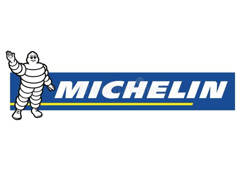 Logo Michelin royaltyfri illustrationer