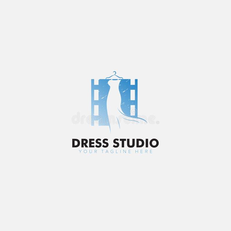 Logo moderni di Drew Studio: design minimalista e femminile royalty illustrazione gratis