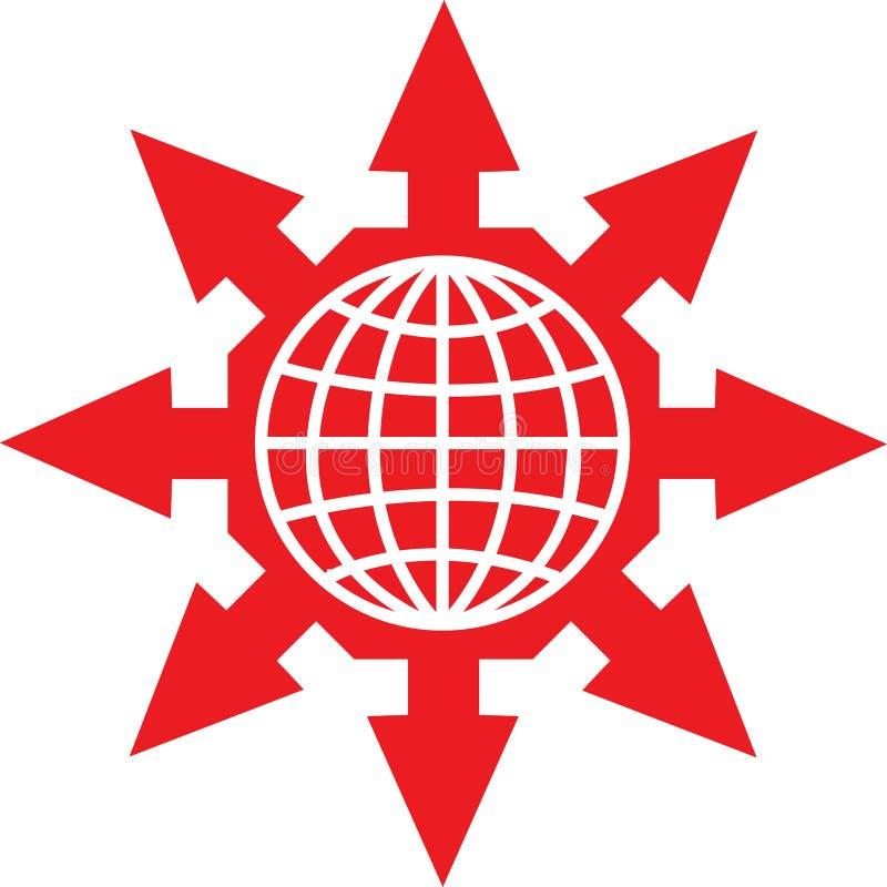 Logo mondial illustration libre de droits