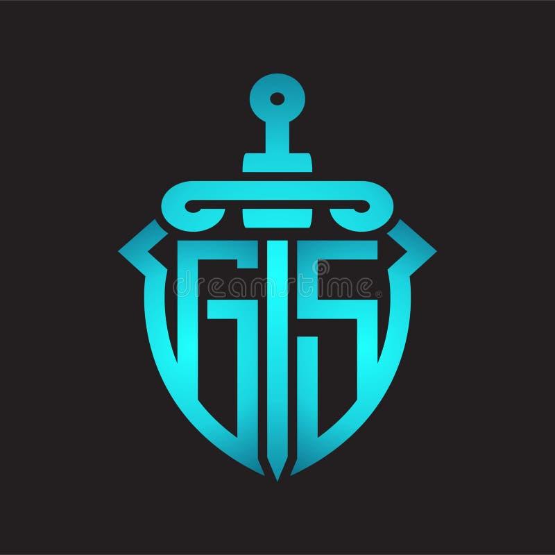 Alphabet Letter Combination Gs G S Logo Company Icon