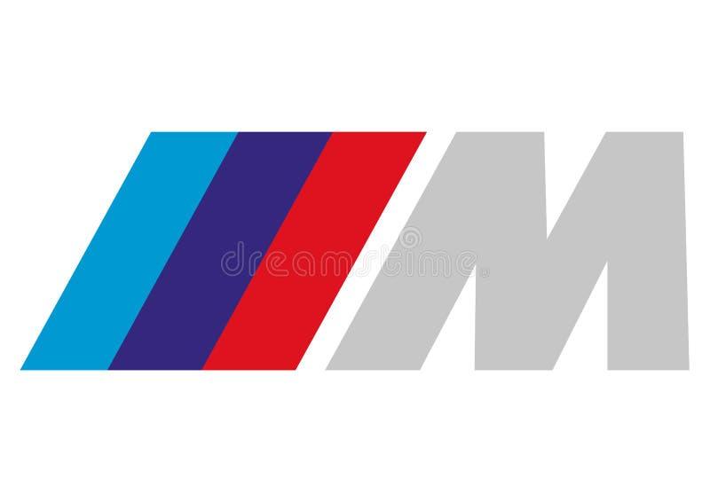 Logo Motorsport BMW ilustração royalty free