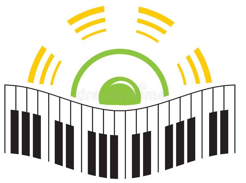 logo muzyki ilustracja wektor