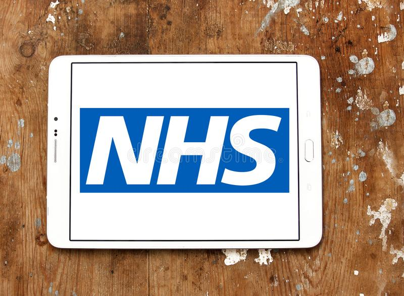 National Health Service , NHS , logo stock image