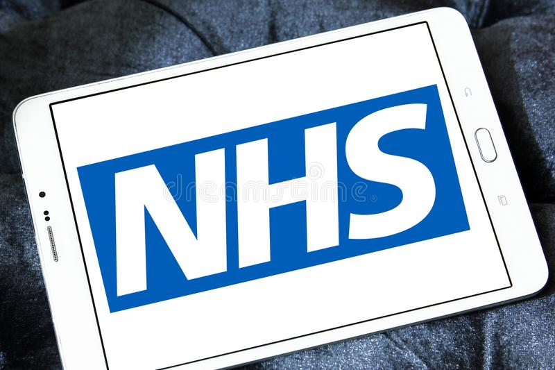 National Health Service , NHS , logo stock photo